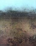 Fabien Bruttin, The Earth, 2015, 40x50 cm (15.7x19.7 in), technique mixte sur MDF