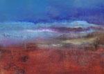 Fabien Bruttin, A new day, 2015, 70x100 cm (27.5x39.4 in), technique mixte sur MDF