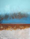 "Fabien Bruttin, ""Cumulus"", 2013, 40x50 cm (15.7x19.7 in), technique mixte sur MDF"