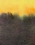 Fabien Bruttin, Cracks, 2015, 40x50 cm (15.7x19.7 in), technique mixte sur MDF