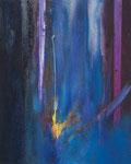 """Fabien Bruttin, """"Comète"""", 2012, 80x100 cm (31.5x39.4 in), technique mixte sur MDF"""