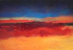 Fabien Bruttin, Retour sur zen 2, 2015, 70x100 cm (27.5x39.4 in), technique mixte sur MDF