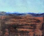Fabien Bruttin, Few steps before..., 2015, 40x50 cm (15.7x19.7 in), technique mixte sur MDF