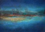 "Fabien Bruttin, ""An Island for Mum"", 2013, 70x100 cm (27.5x39.4 in), technique mixte sur MDF"