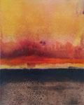 Fabien Bruttin, Dream of sand, 2015, 40x50 cm (15.7x19.7 in), technique mixte sur MDF