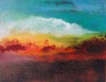Fabien Bruttin, A fire somewhere..., 2015, 40x50 cm (15.7x19.7 in), technique mixte sur MDF