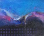 Fabien Bruttin, Untitled, 2015, 40x50 cm (15.7x19.7 in), technique mixte sur MDF