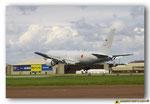 Boeing KC-767J  immatriculé 07-3604 à l'atterrissage