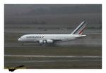 Airbus A380  Air France à l'atterissage