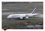 Airbus A380 Air France décoration 80 ans AF