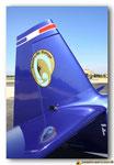 Dérive de l'Extra-330SC  avec l'insigne de l'EVAA