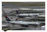 Airbus A330 US Airways et Boeing 757 United Airlines