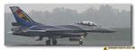 Roulage sur la piste du F-16 AM du Solo Display Belge