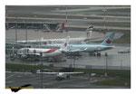 Terminale avec Airbus A330 Etihad - Air Canada et Air Algérie