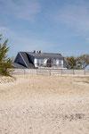 Strandhaus-Fehmarn I, vom Strand