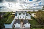 Strandhaus-Fehmarn I, aus der Vogelperspektive