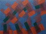 o.T., 2020 - XVII, Acryl auf Jute, 75 x 100 cm