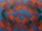o.T., 2020 - XX, Acryl auf Jute, 75 x 100 cm