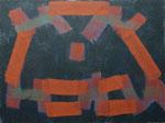 o.T., 2020 - XVI, Acryl auf Jute, 75 x 100 cm