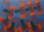 o.T., 2020 - XVIII, Acryl auf Jute, 75 x 100 cm