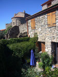 "The holiday cottage  ""La Salamandre"", in the village"