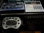 Vox Tonelab - Boss DR 880 - Line 6 Bass Pod