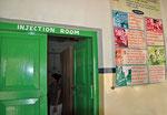 Salle de vaccination