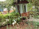 Un lieu de méditation au centre du verger