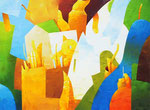 Wo wir sind | Öl auf Leinwand | 200 x 150 cm | 2005