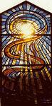 Fenster-Leichenhalle | Dickglas | 3,70 x 1,60 m | 1982