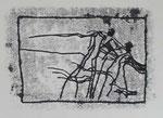 Tanz Bewegung | Monotypie | 24 x 34 cm