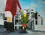 Bildungsgerechtigkeit | Acryl | 100 x 80 cm