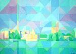 Lebensqualität | Öl auf Leinwand | 100 x 70 cm | 2013