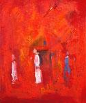 Einsam | Öl auf Leinen | 50 x 60 cm | 2012