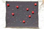 Der springende Punkt | Textil, Schaumstoff | 82 x 70 cm