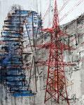 Energierevolution | Acryl | 100 x 120 cm