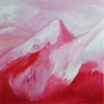 Berg I | Öl auf Leinen | 50 x 60 cm | 2012