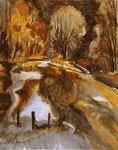 Aisttal | Aquarell | 34 x 43 cm | 1990