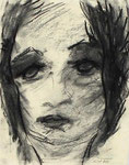 Charlotte | Kohle auf Papier | 15 x 20 cm | 1980