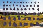 Turntobel | Fotografie und Kugelschreiber | 42 x 29 cm | 2003