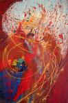 Anton Bruckner Te Deum | Mischt. a. Leinwand | 100 x 150 cm