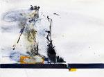 Industrie im Wandel | Tusche | 80 x 60 cm