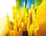 Verwicklung | Öl auf Leinwand | 200 x 160 cm | 2004