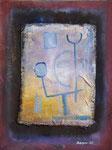 Ballance | Öl auf Leinen auf Karton | 31 x 41 cm | 1986