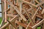 Holzobjekt bei Bruckmühle von Martin Steinert