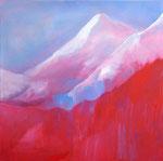 Berg II | Öl auf Leinen | 70 x 70 cm | 2012