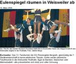 13. Tanzturnier der KG Prinzengilde Bergrath (März 2009)