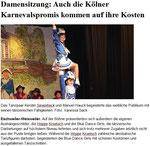 Damensitzung der KG Lätitia von 1878 Blaue Funken Artillerie Weisweiler e. V. (09.01.2014)