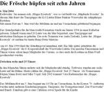 Ankündigung - Jubiläum - 10 Jahre Höppe Kroetsch (2004)