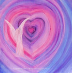 Engel der Liebe.....Leinwand auf Keilrahmen 60x60cm               180.--€